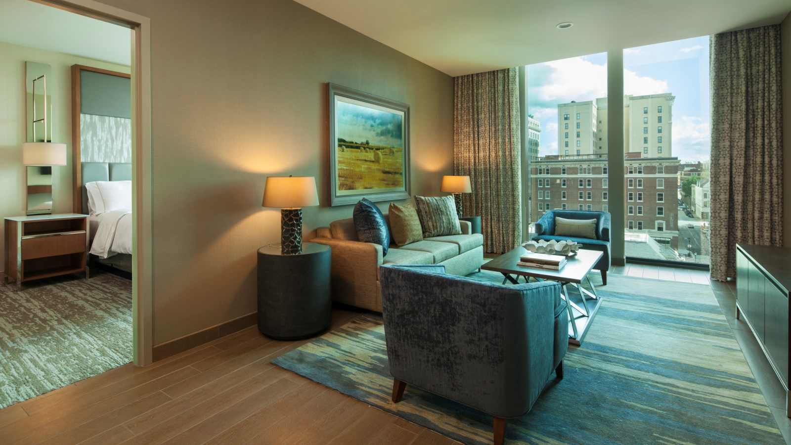 The Westin Chattanooga- Executive Suite